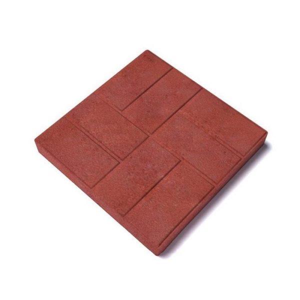 Тротуарная плитка 8 кирпичей шершавая